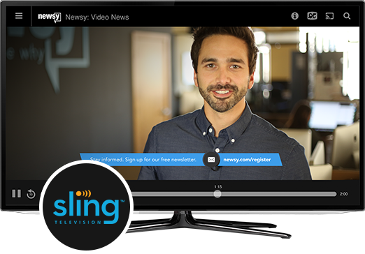 Watch Newsy On Sling TV